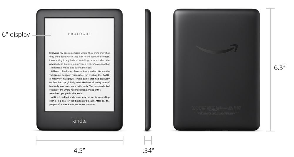 Tặng Cover] New Kindle (10th) 8GB mới nhất 2020 - (WHITE)